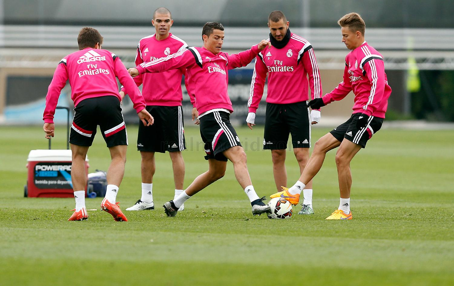Real Madrid - Entrenamiento del Real Madrid - 10-04-2015