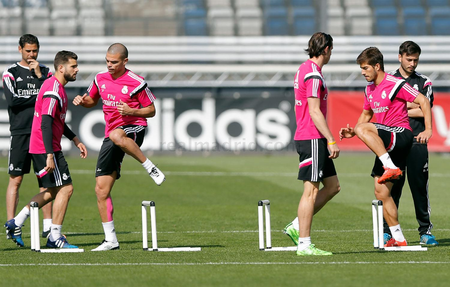 Real Madrid - Entrenamiento del Real Madrid - 12-04-2015