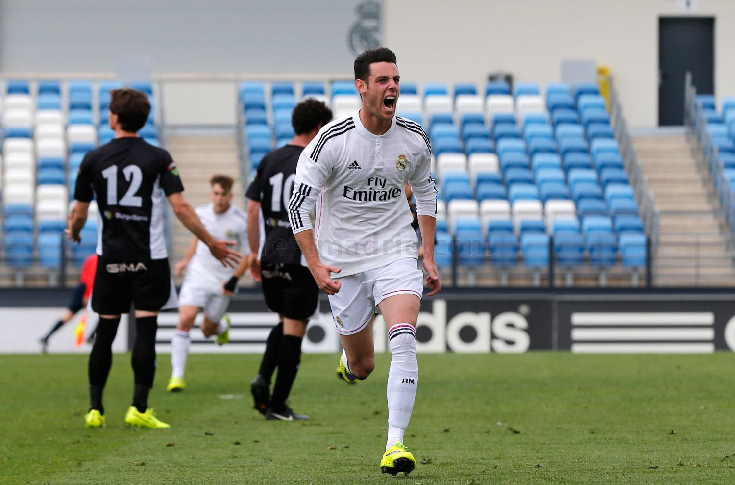 Real Madrid - Real Madrid Castilla - Tudelano - 12-04-2015