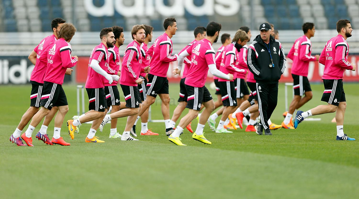 Real Madrid - Entrenamiento del Real Madrid - 16-04-2015