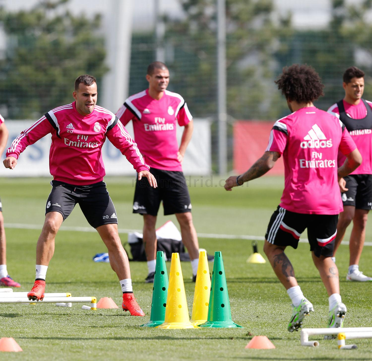 Real Madrid - Entrenamiento del Real Madrid - 17-04-2015