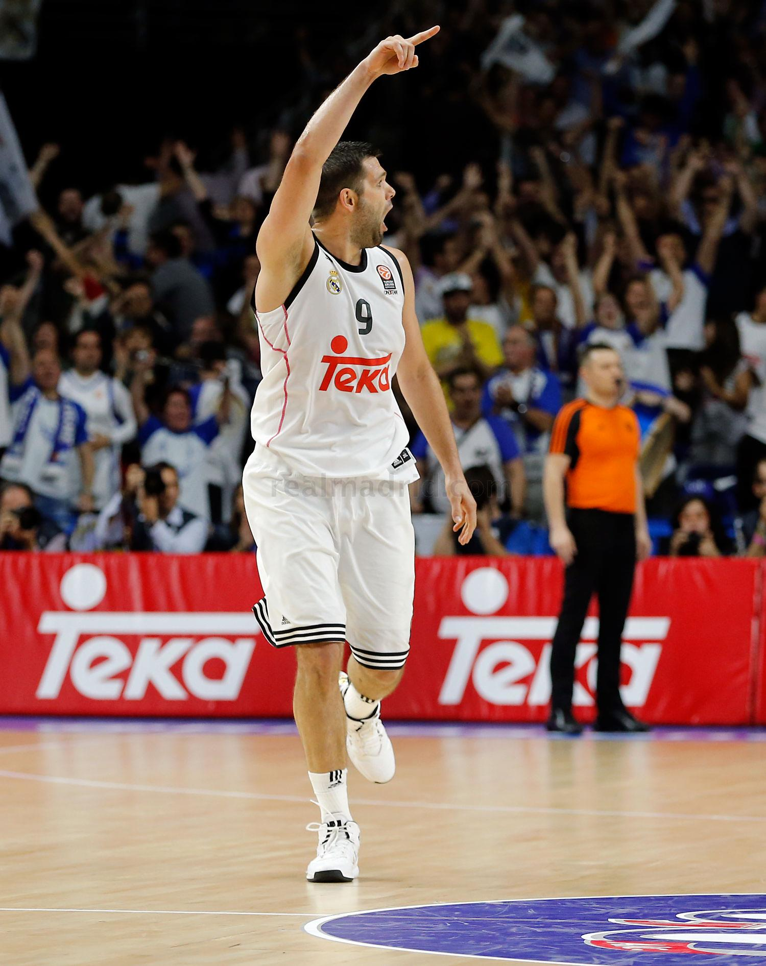 Real Madrid - Real Madrid - Anadolu Efes - 17-04-2015