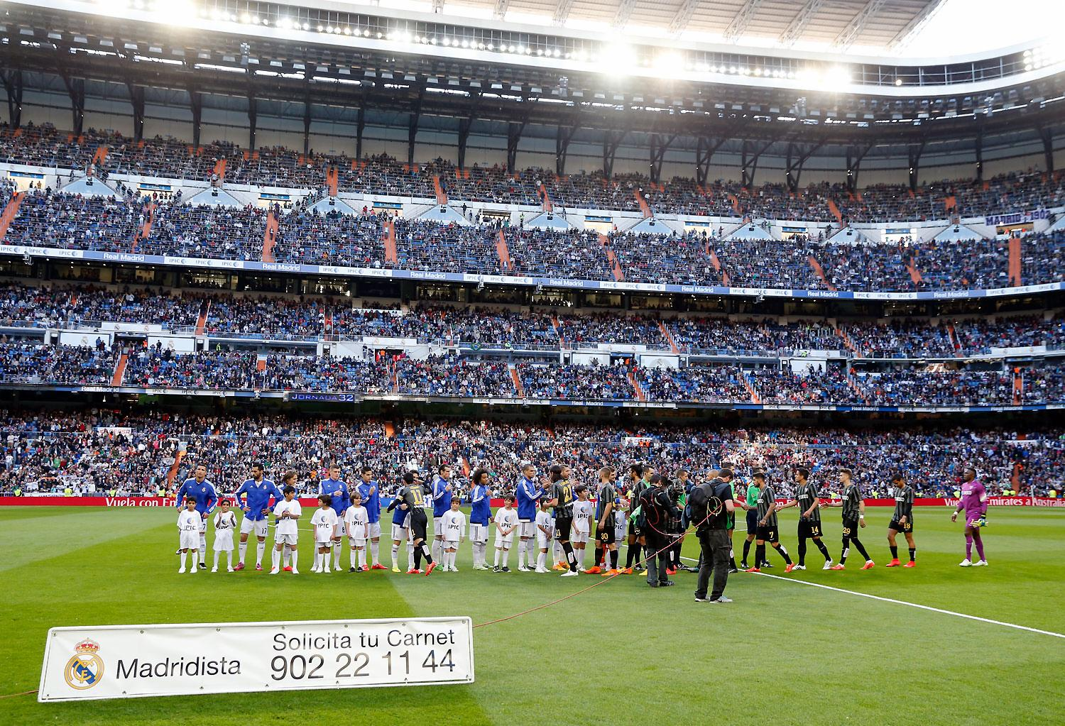Real Madrid - Real Madrid - Málaga - 18-04-2015