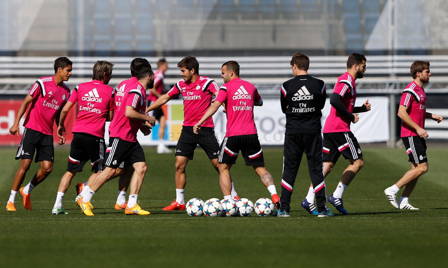 Real Madrid - Entrenamiento del Real Madrid - 19-04-2015