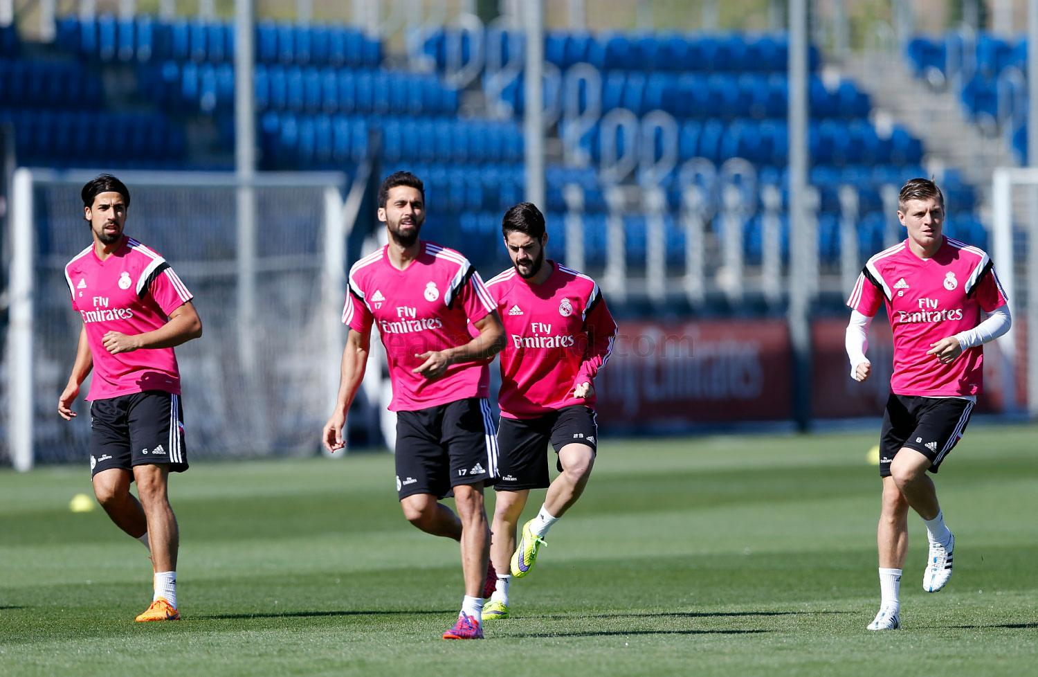 Real Madrid - Entrenamiento del Real Madrid - 20-04-2015