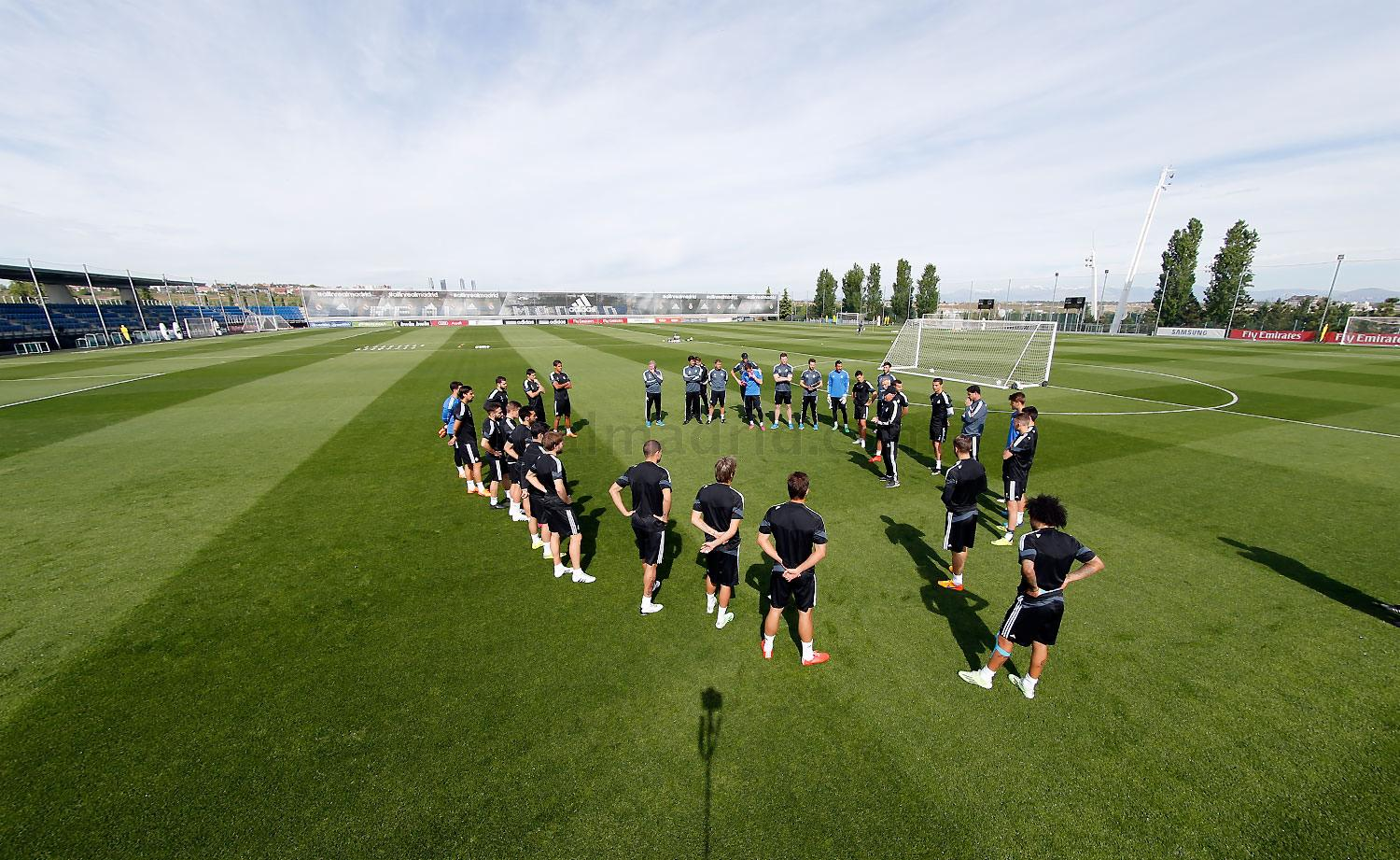 Real Madrid - Entrenamiento del Real Madrid - 21-04-2015