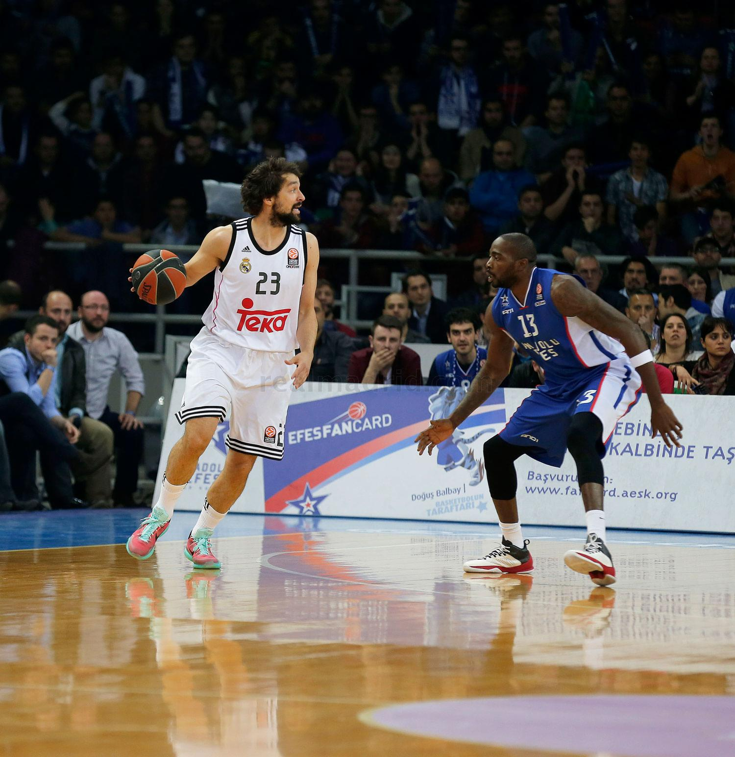 Real Madrid - Anadolu Efes - Real Madrid - 22-04-2015