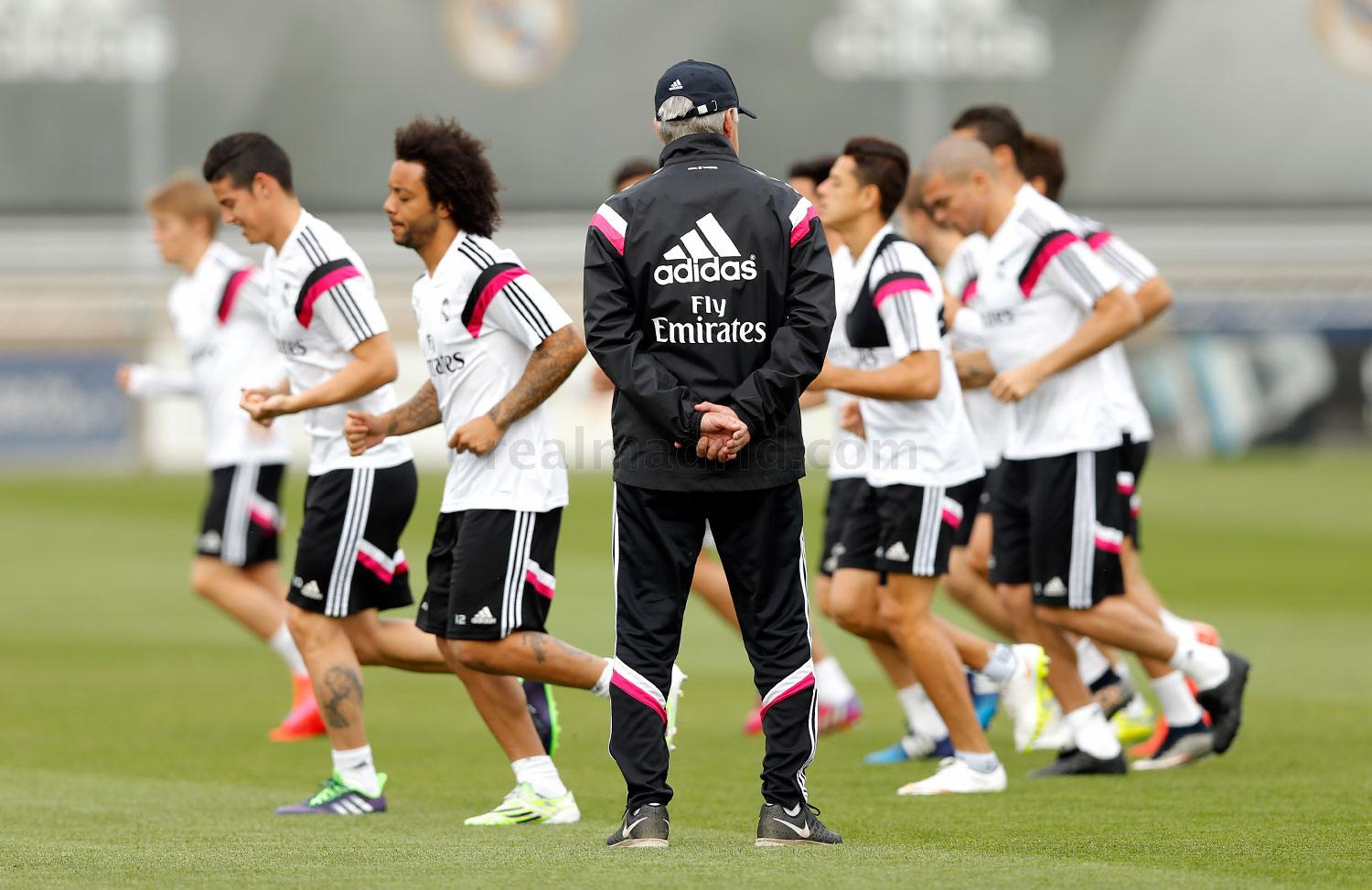 Real Madrid - Entrenamiento del Real Madrid - 24-04-2015
