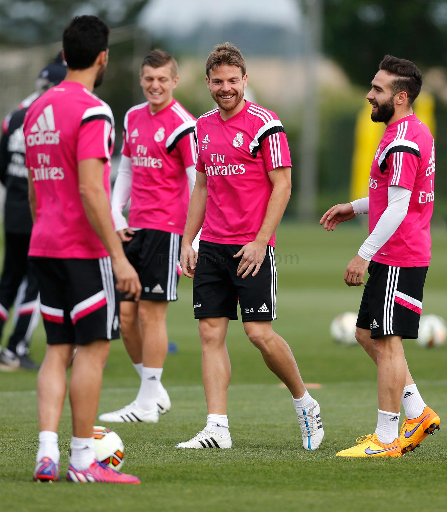 Real Madrid - Entrenamiento del Real Madrid - 25-04-2015