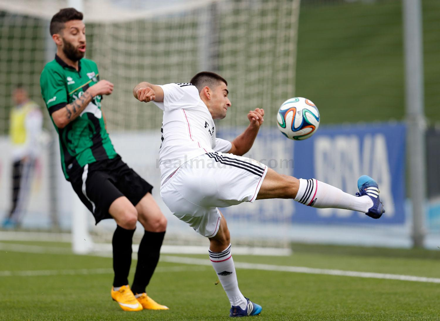 Real Madrid - Real Madrid Castilla - Sestao River - 25-04-2015