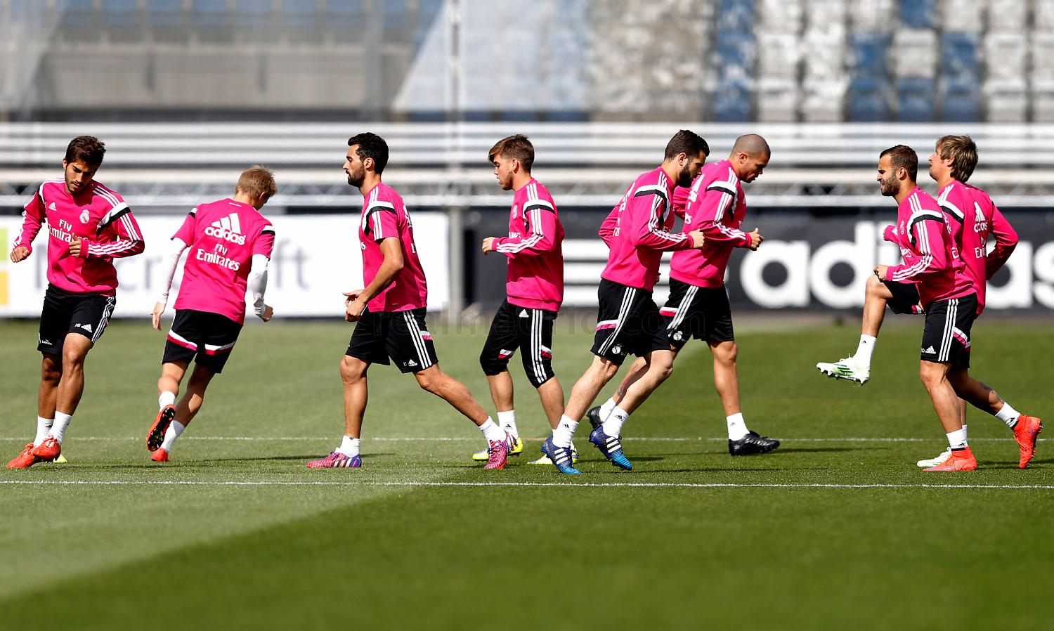 Real Madrid - Entrenamiento del Real Madrid - 27-04-2015
