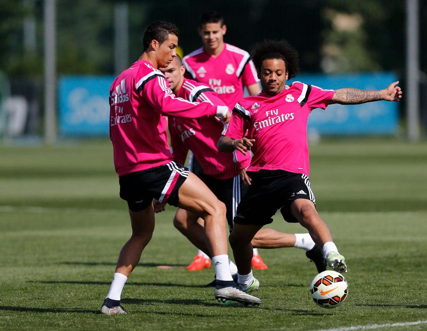 Real Madrid - Entrenamiento del Real Madrid - 28-04-2015
