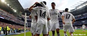 3-0: Real Madrid offer no let-up in the race for the title