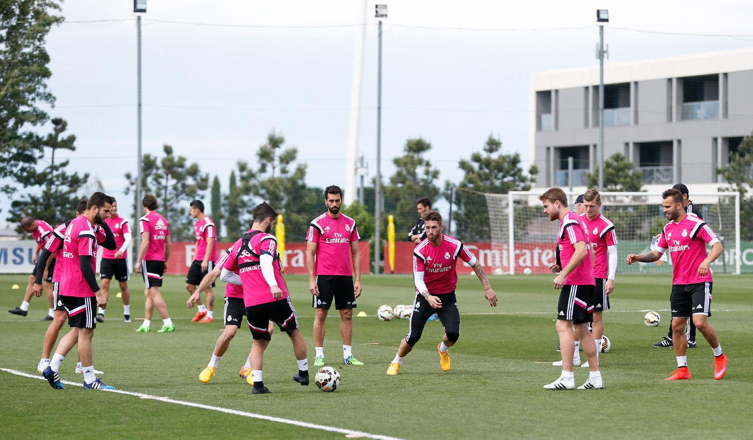 Real Madrid - Entrenamiento del Real Madrid - 01-05-2015