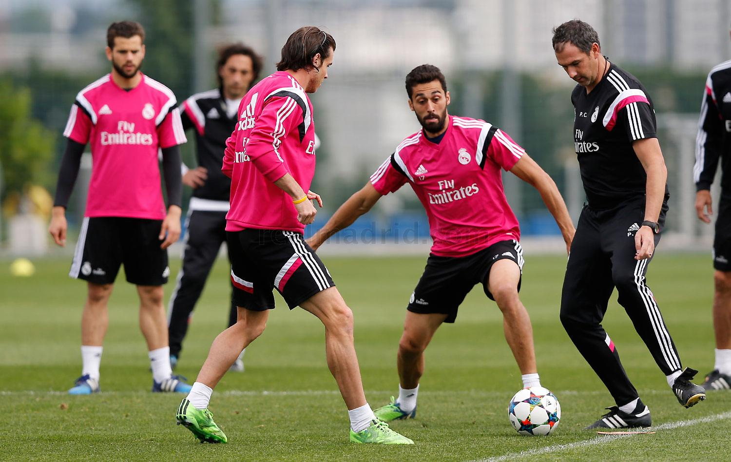 Real Madrid - Entrenamiento del Real Madrid - 03-05-2015