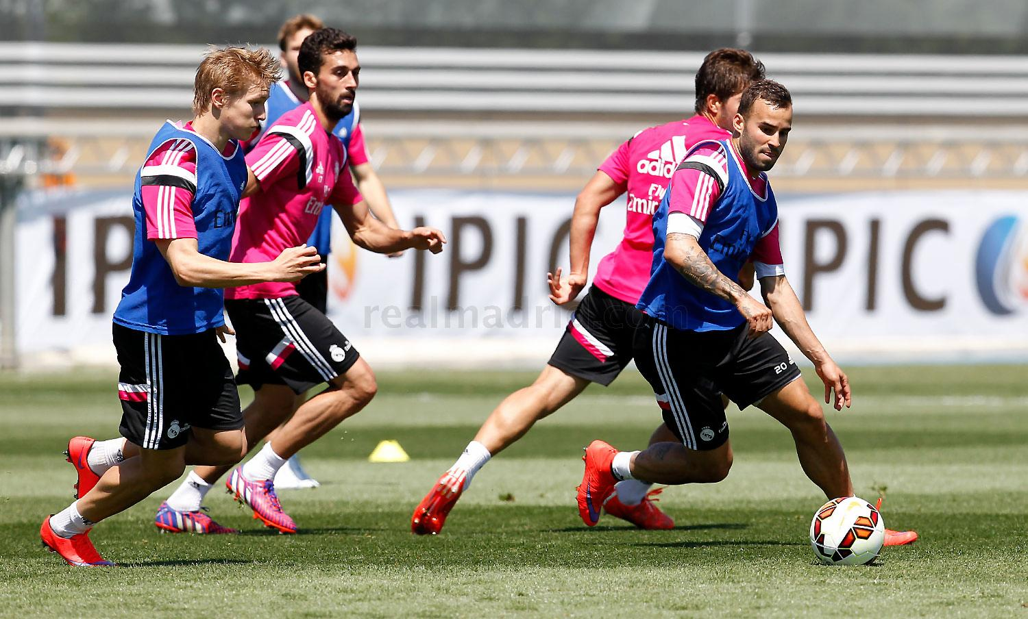 Real Madrid - Entrenamiento del Real Madrid - 06-05-2015