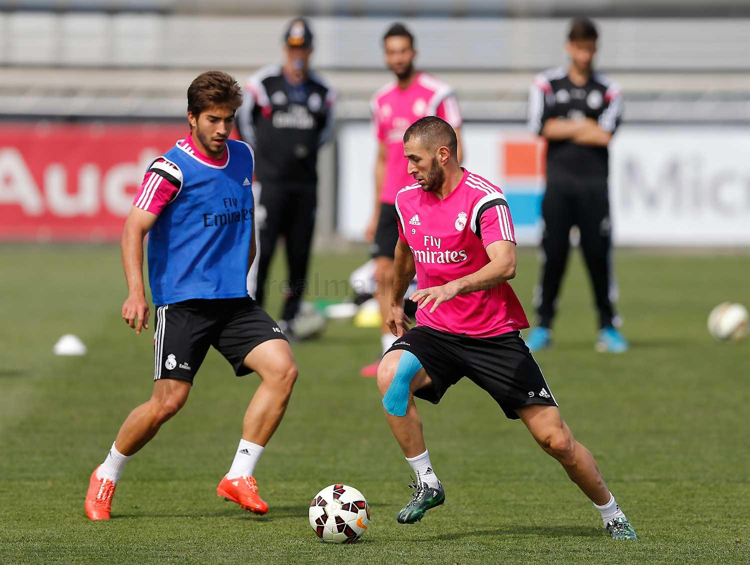 Real Madrid - Entrenamiento del Real Madrid - 07-05-2015