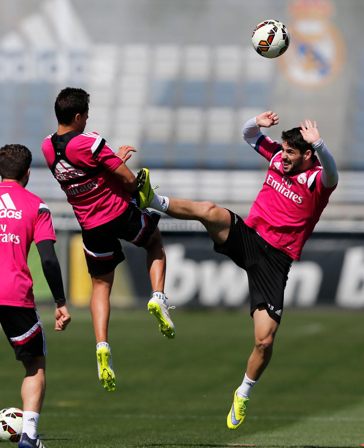 Real Madrid - Entrenamiento del Real Madrid - 08-05-2015
