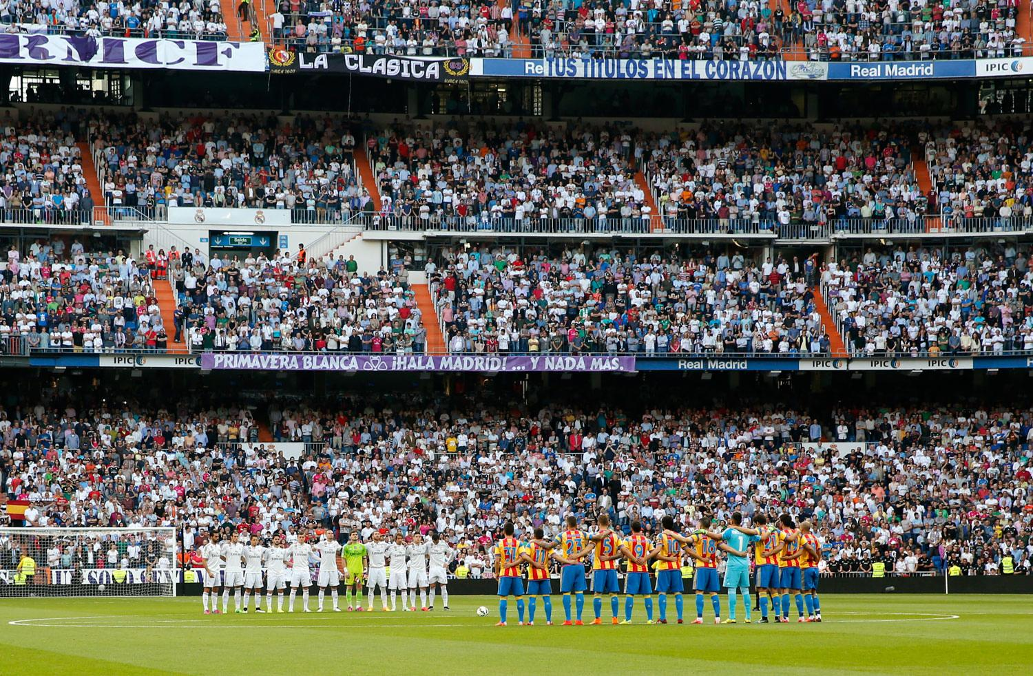 Real Madrid - Real Madrid - Valencia - 09-05-2015