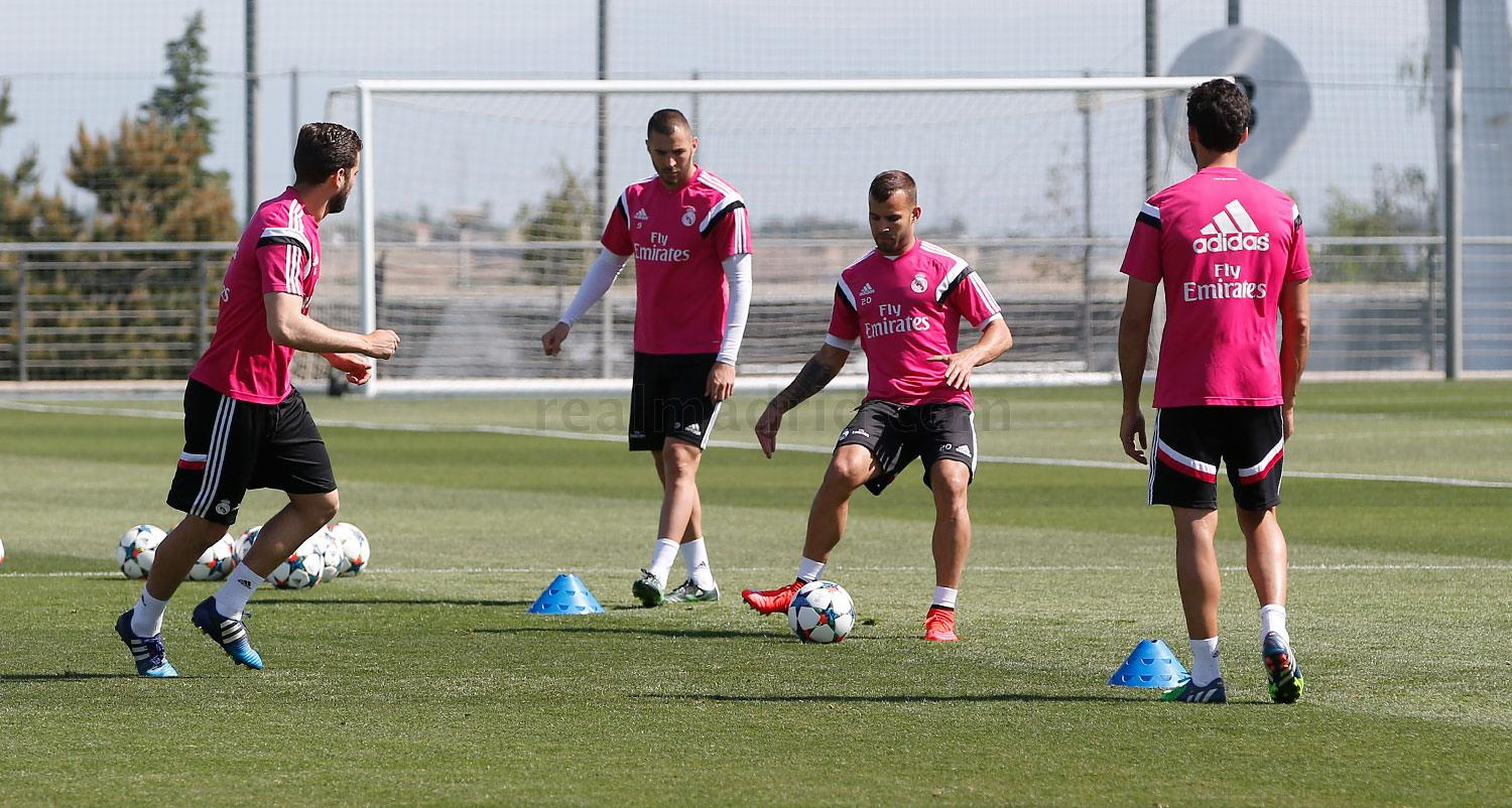 Real Madrid - Entrenamiento del Real Madrid - 10-05-2015