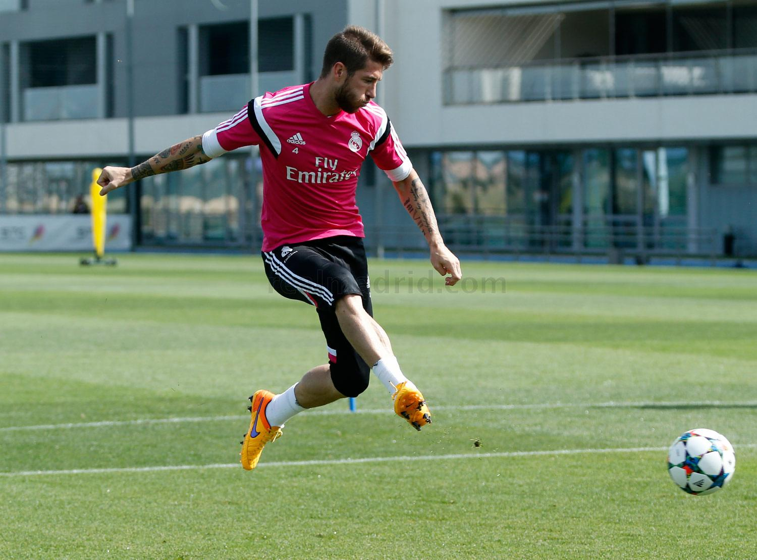 Real Madrid - Entrenamiento del Real Madrid - 11-05-2015