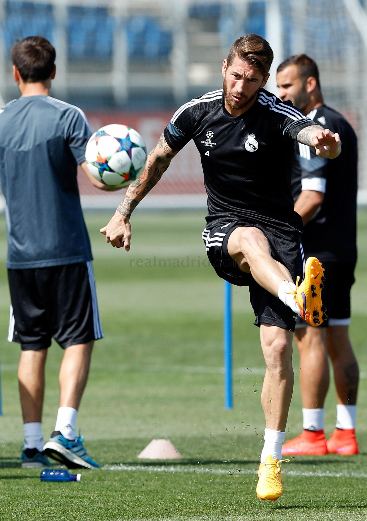 Real Madrid - Entrenamiento del Real Madrid - 12-05-2015