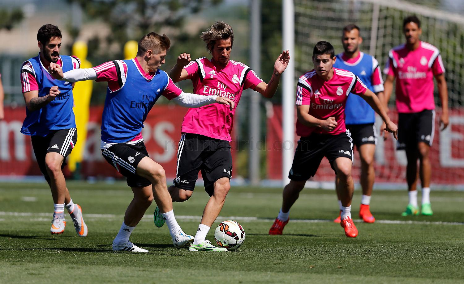 Real Madrid - Entrenamiento del Real Madrid - 20-05-2015