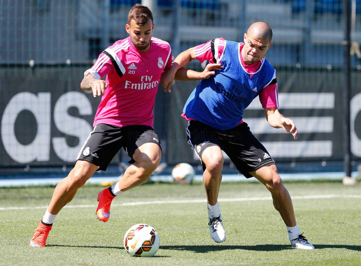 Real Madrid - Entrenamiento del Real Madrid - 21-05-2015