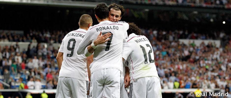 """""""რეალი"""" – ყველაზე შედეგიანი გუნდი ევროპის 5 წამყვან ლიგაში"""