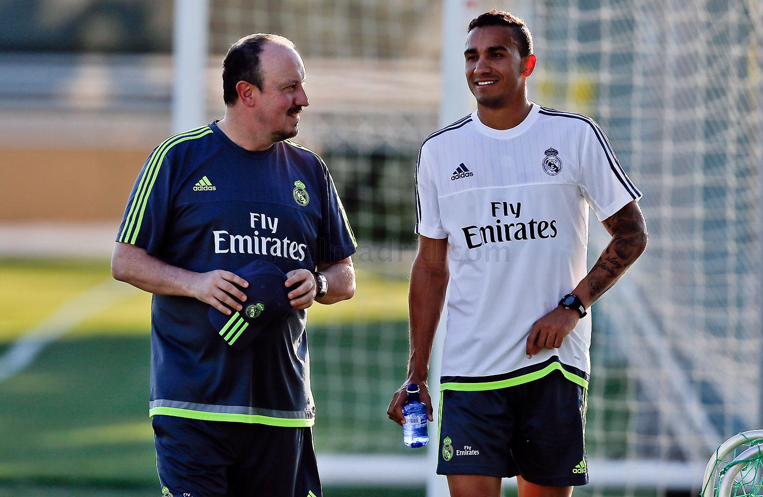 Real Madrid - Entrenamiento - 10-07-2015