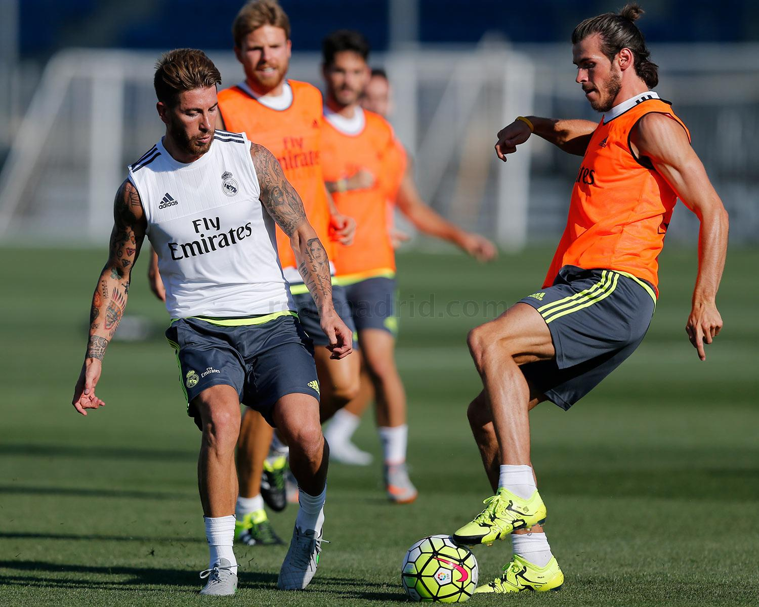 Real Madrid - Entrenamiento del Real Madrid - 11-07-2015