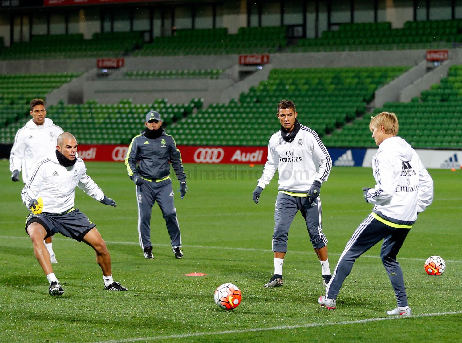 Real Madrid - Entrenamiento del Real Madrid - 14-07-2015