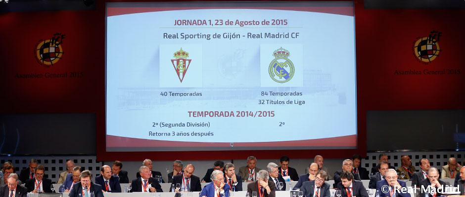 Calendario Real Madrid Liga.Asi Queda El Calendario Del Real Madrid Para La Liga 2015 16 Real