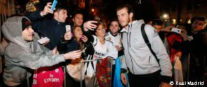 Llegada del Real Madrid a Melbourne