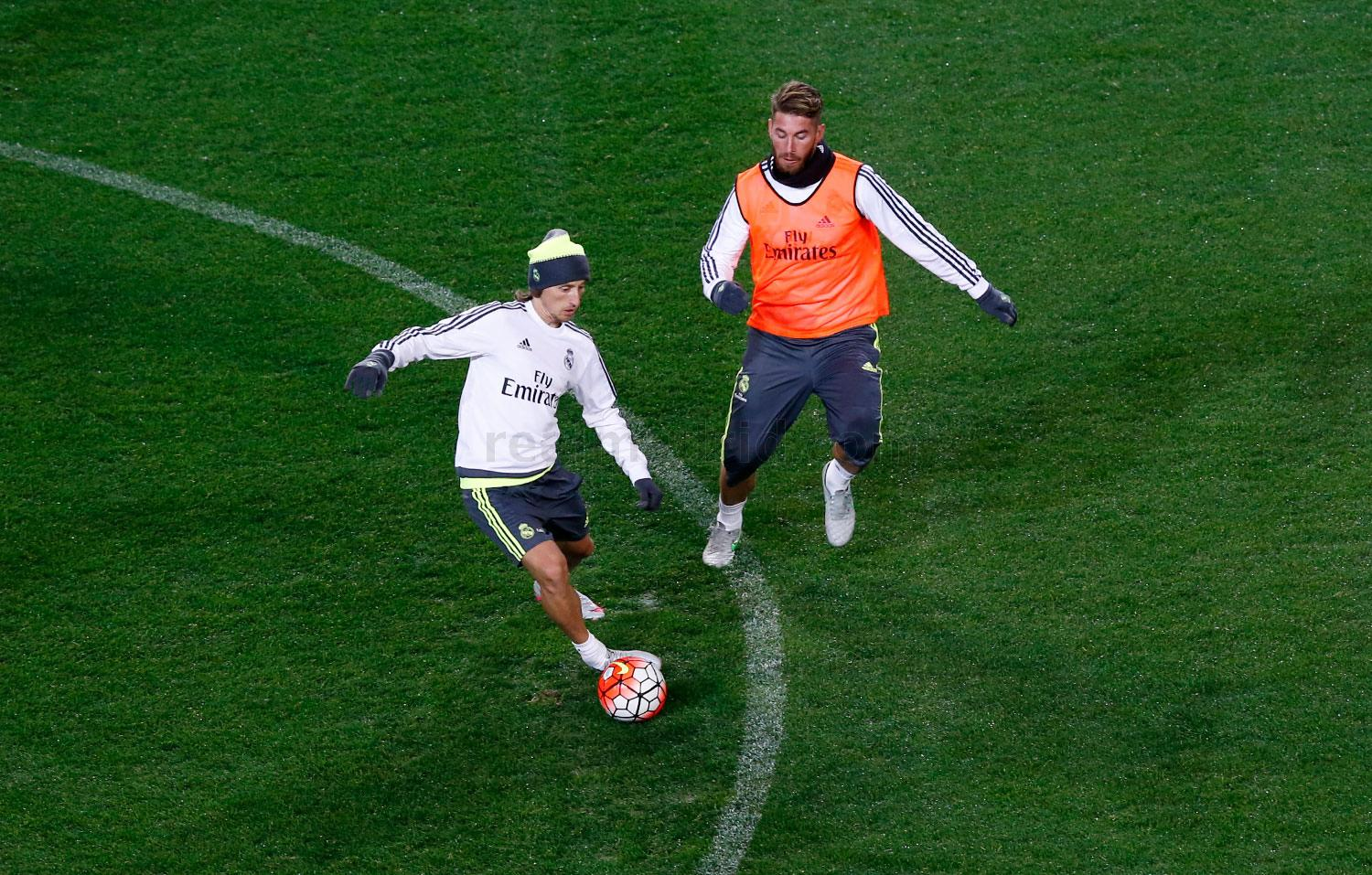 Real Madrid - Entrenamiento del Real Madrid - 15-07-2015