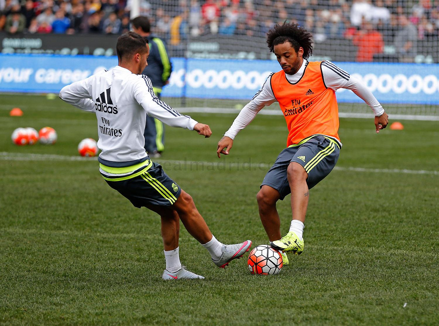 Real Madrid - Entrenamiento del Real Madrid - 17-07-2015
