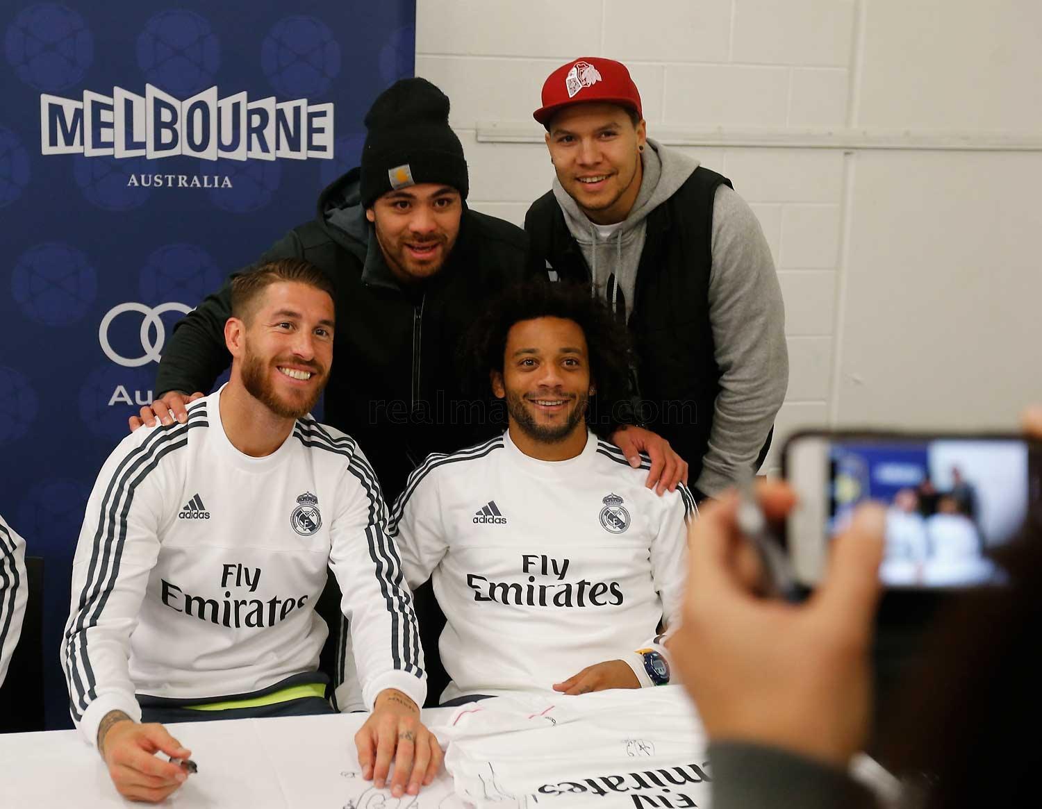 Real Madrid - Meet and greet - 17-07-2015