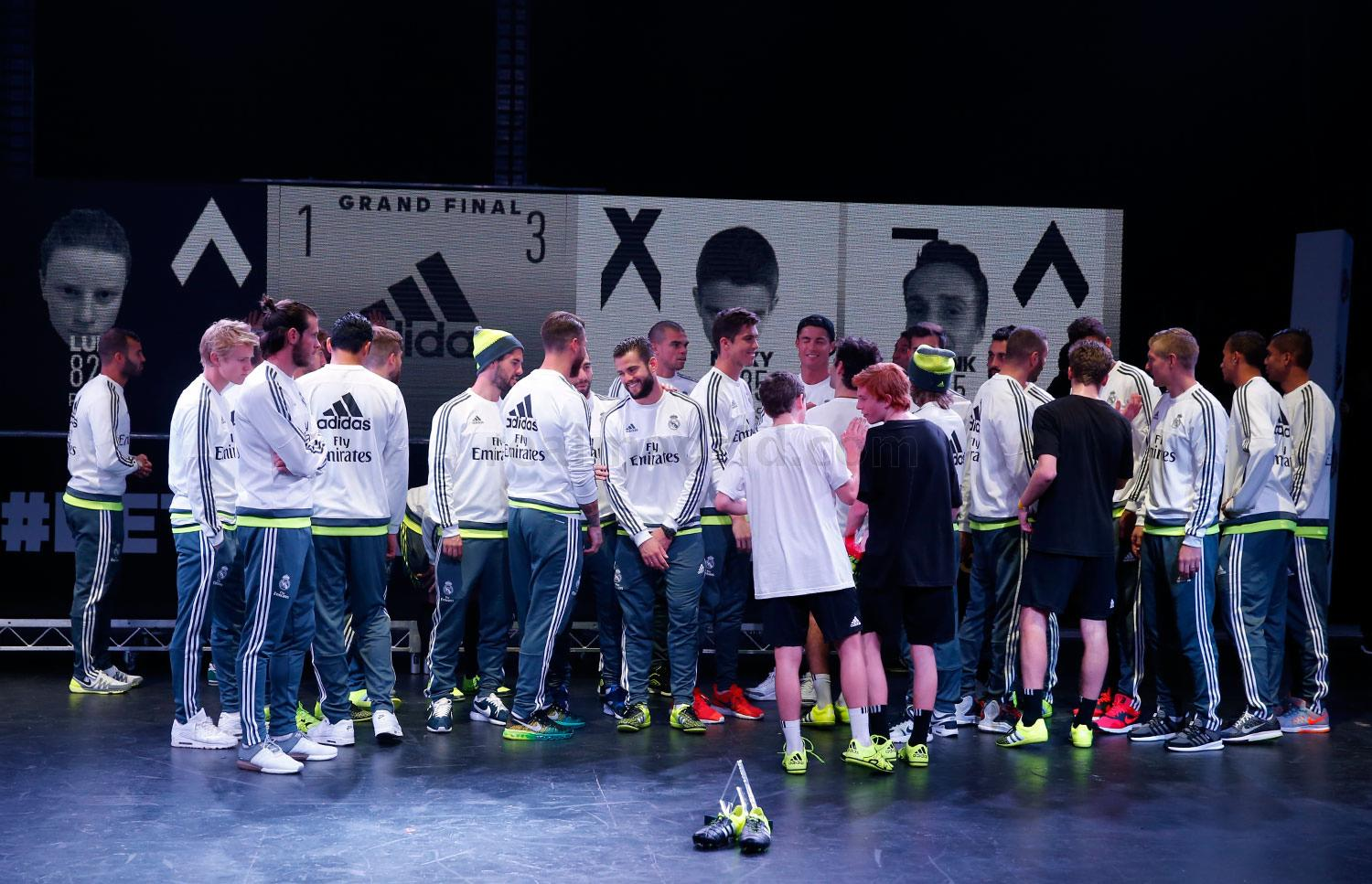 Real Madrid - Evento de Adidas en Melbourne - 19-07-2015