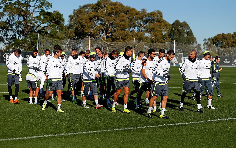 گزارش تصويري تمرينات امروز رئال مادريد
