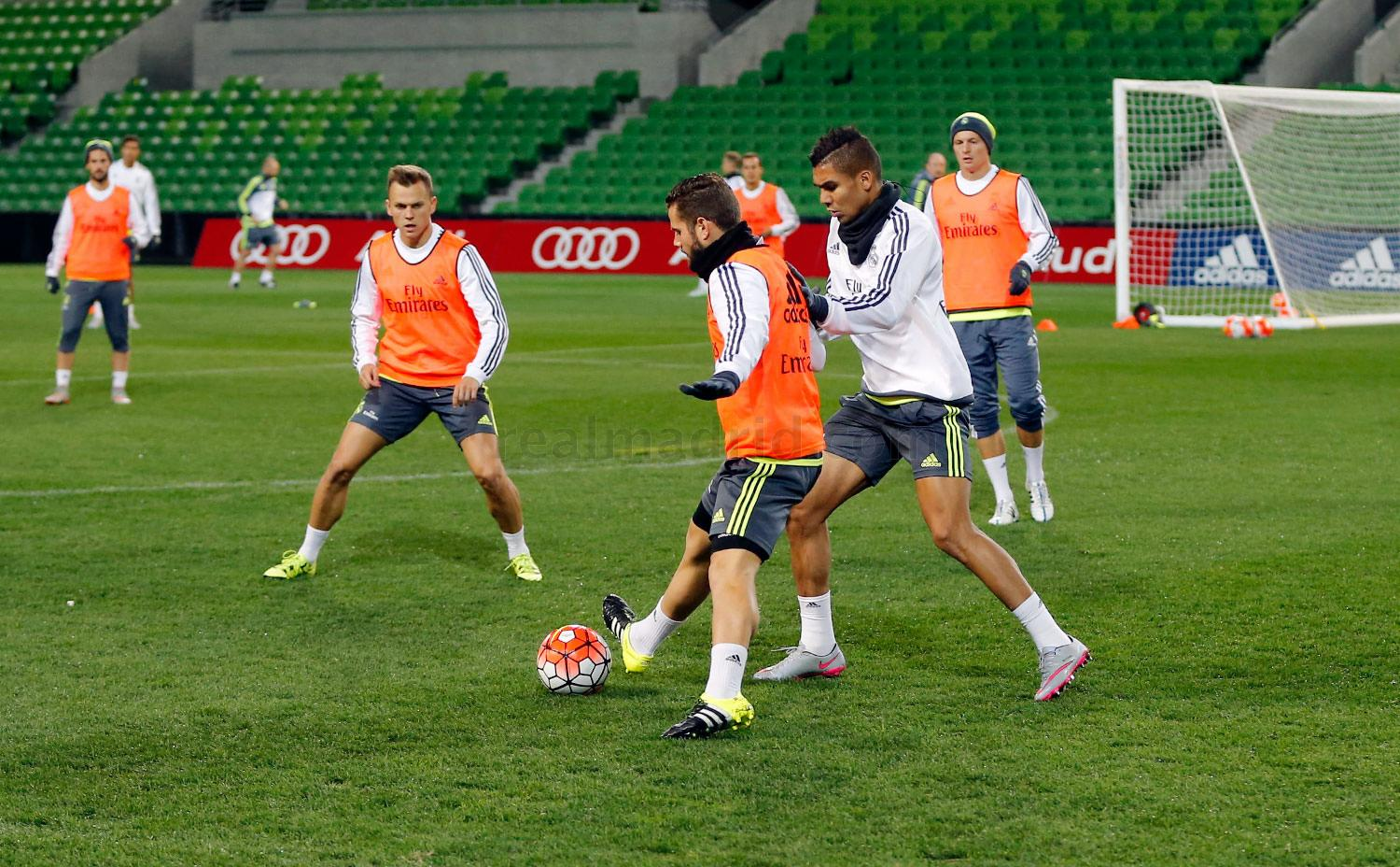 Real Madrid - Entrenamiento del Real Madrid - 21-07-2015