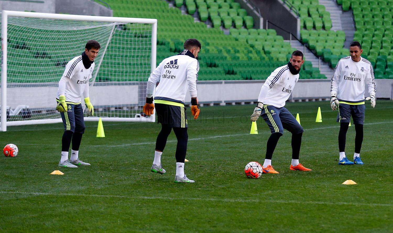 Real Madrid - Entrenamiento del Real Madrid - 23-07-2015