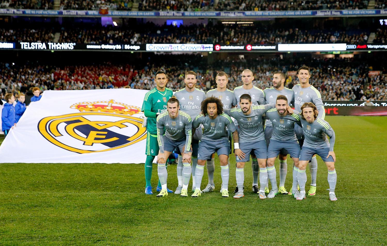 Manchester City vs Real Madrid 26th April 2016 Hey Jude ...  Man City-real Madrid