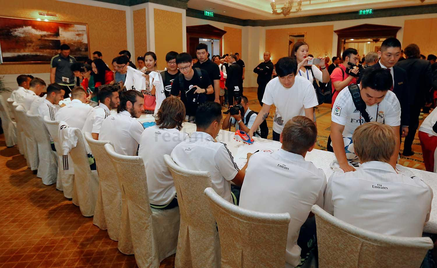 Real Madrid - Meet & Greet en Guangzhou - 26-07-2015