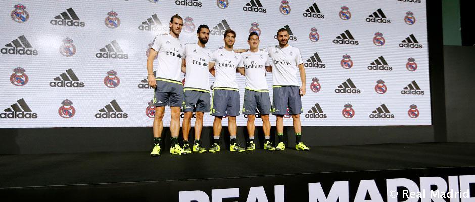 Real Madrid y adidas realizan un evento en Shangai