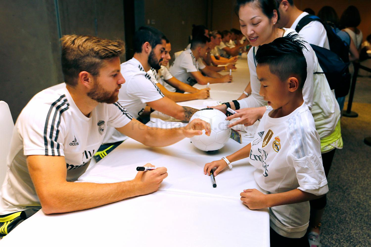 Real Madrid - Meet & Greet en Shanghái - 29-07-2015