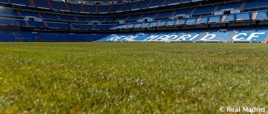 Innovación: El Real Madrid tendrá cesped híbrido