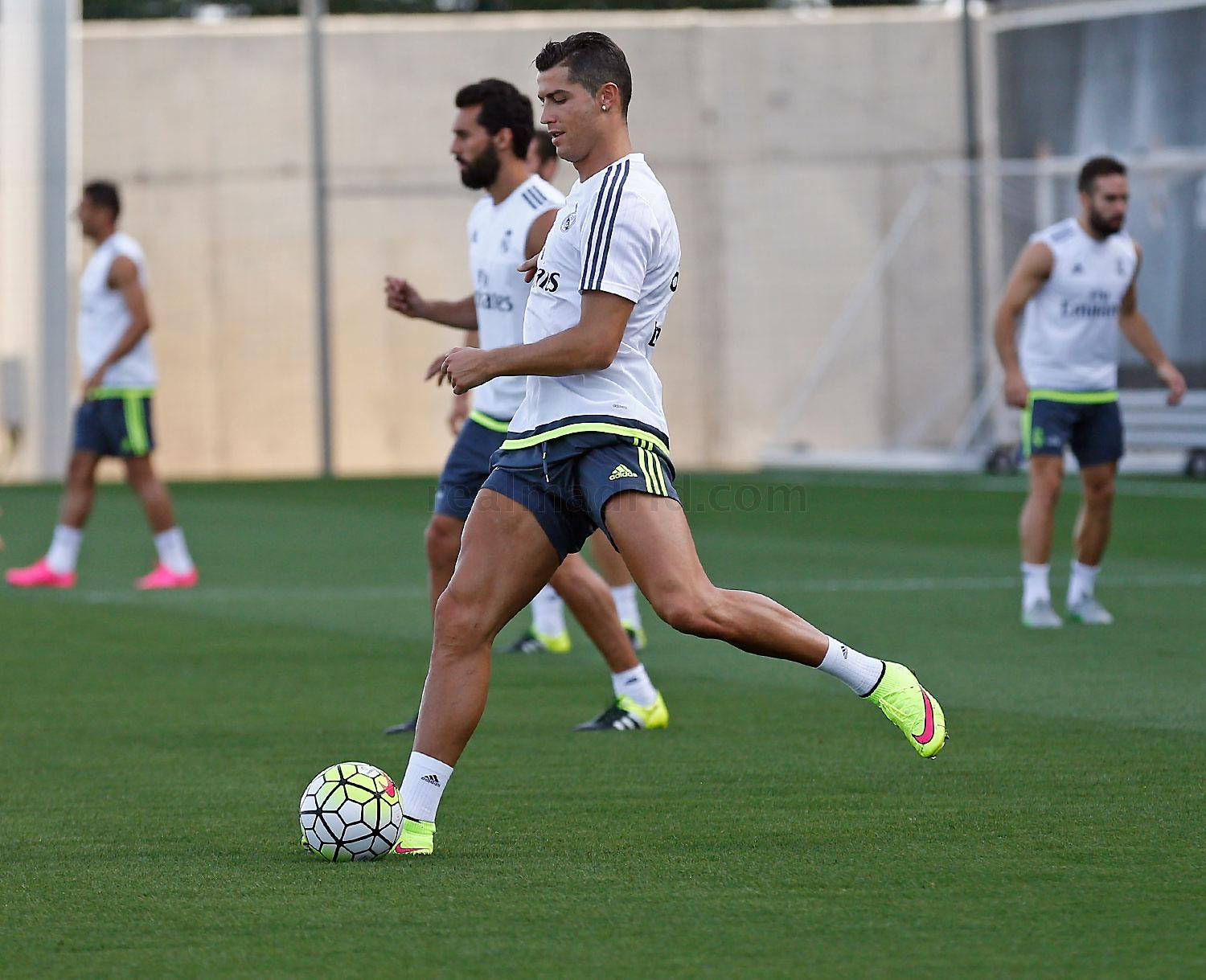 Real Madrid - Entrenamiento del Real Madrid - 03-08-2015