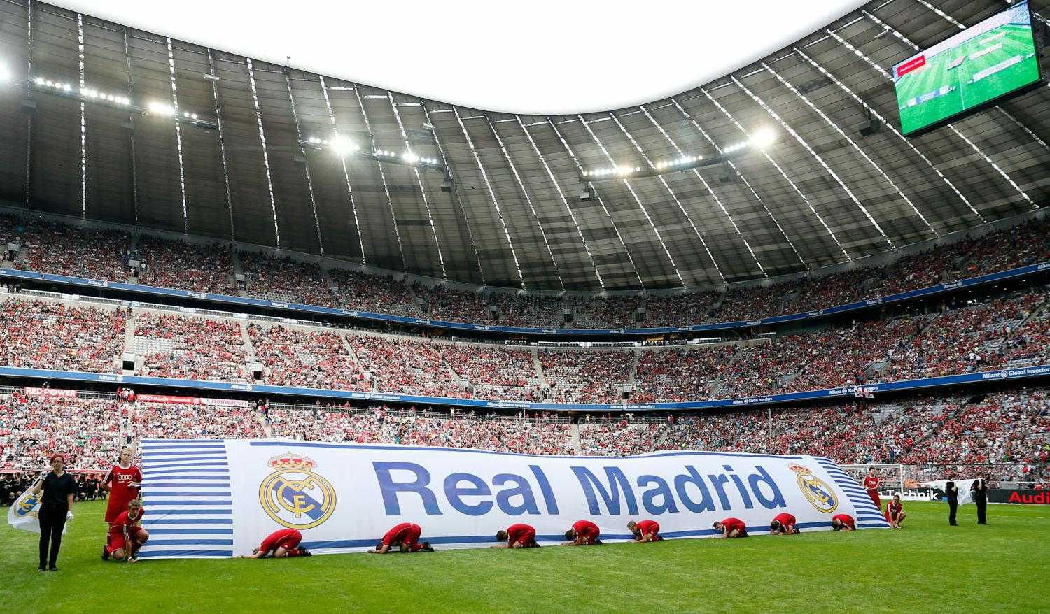 Real Madrid - Real Madrid - Tottenham - 04-08-2015