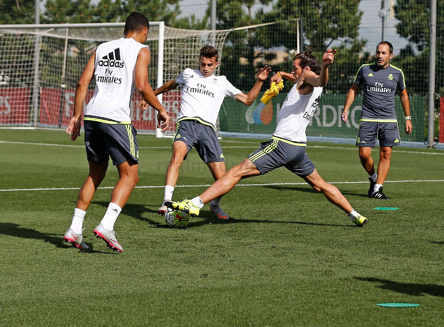 Real Madrid - Entrenamiento del Real Madrid - 07-08-2015
