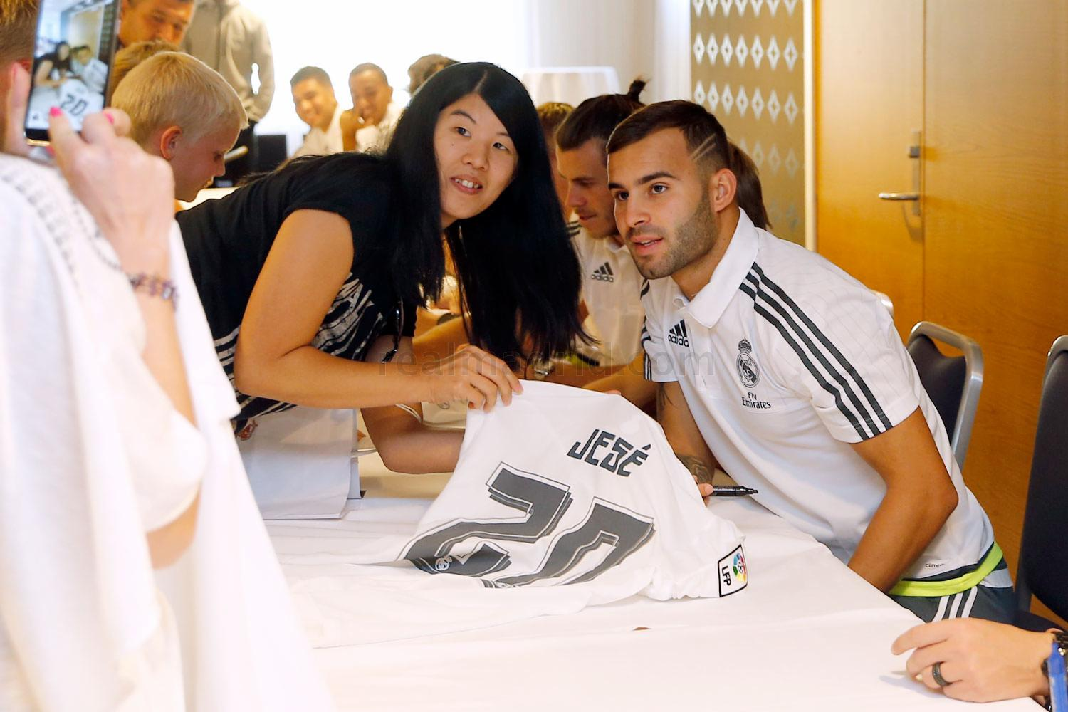 Real Madrid - Meet&Greet en Oslo - 08-08-2015